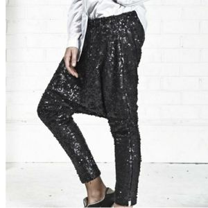 One Teaspoon Angel Sequin Harem Pants